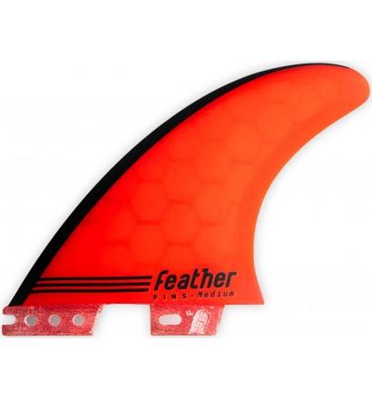 Vinne Feather Fins Gony Zubizarreta Red Core Click Tab
