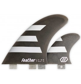 Fins Feather Twin Fin 2+1