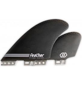 Kiele Feather Fins Semi Keel Quad Click Tab