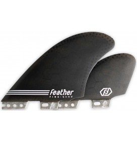 Quillas Feather Fins Semi Keel Quad Click Tab
