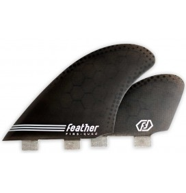 Aileron de surf Feather Fins Semi Keel Quad
