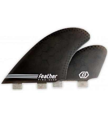 Feather Fins Semi Keel Quad