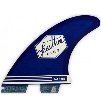 Quillas de surf Feather Ultralight Hex Core Click Tab