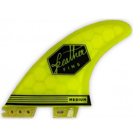 Quilhas surf Feather Ultralight Hex Core Click Tab