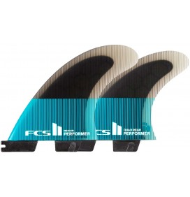 Ailerons de surf FCSII Performer PC Quad