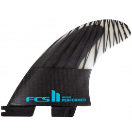 Quilhas surf FCSII Performer PC Carbon