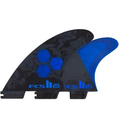 Ailerons de surf FCSII Tri-Quad Al Merrick PC