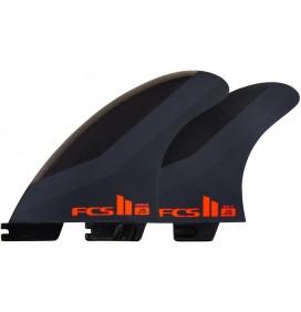 Ailerons de surf FCS II JS PC Tri-Quad