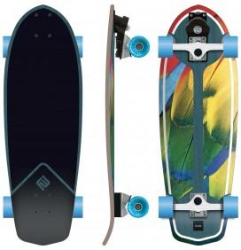 Prancha de surfskate Flying Wheels Parrot 29''
