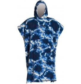 Poncho Billabong Blue Tie Dye