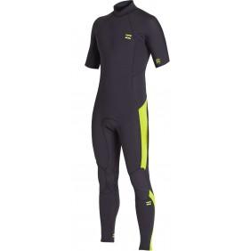 Wetsuit Billabong Absolute 2mm Flatlock Short sleeve