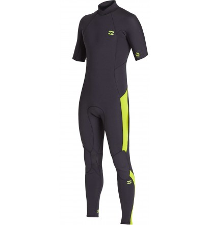 Wetsuit Billabong Absolute 2mm Flatlock Short sleeve