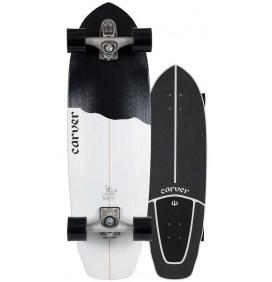 surfskate Carver Black Tip 32,5'' C7