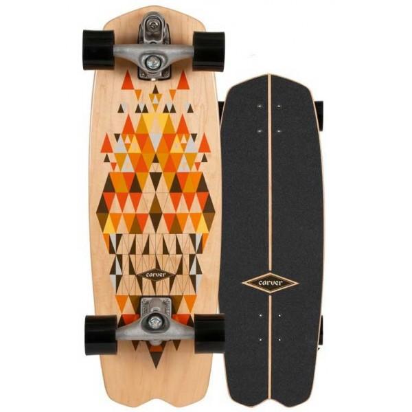 Imagén: surfskate Carver Spectra 28,25