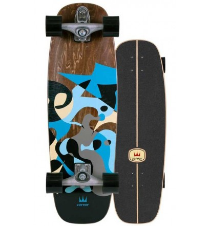 surfskate Carver Blue Ray 30'' C7