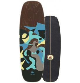 surfskate Carver Blue Ray 30''