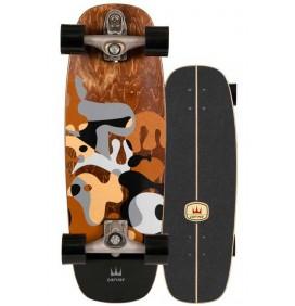 Prancha de surfskate Carver Gray Ray 27,5'' C7