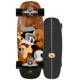 Planche de surfskate Carver Gray Ray 27,5'' Cx