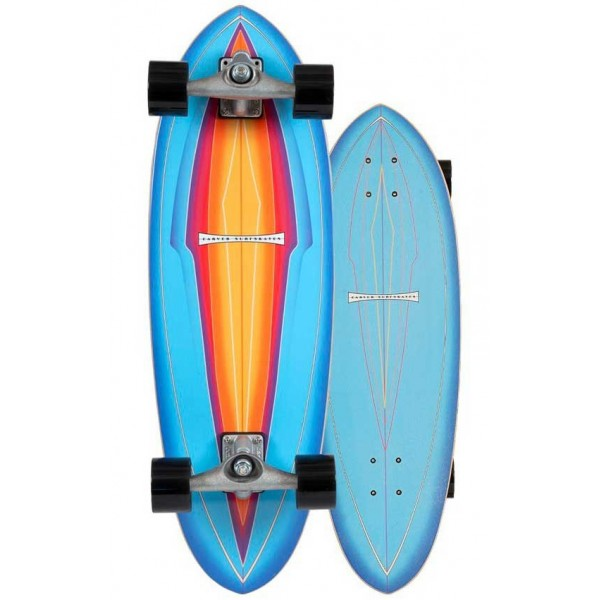 Imagén: surfskate Carver Blue Haze 31