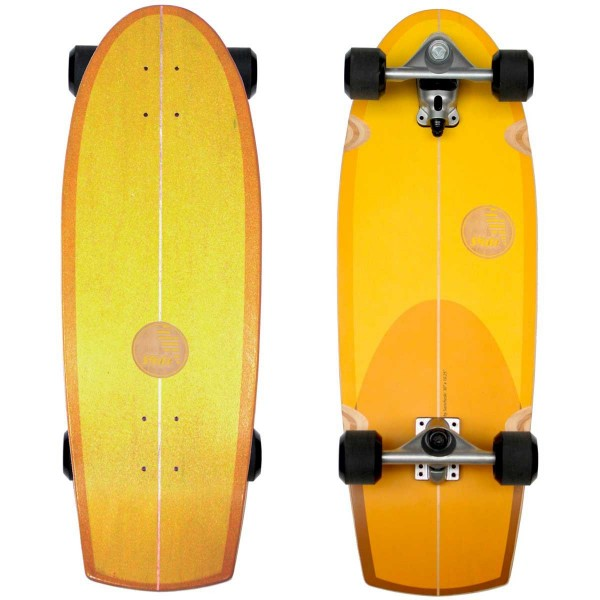 Imagén: Prancha de surfskate Slide Quad Sunset 30