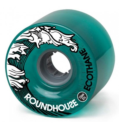 Carver Roundhouse Eco-Mag 70mm Rollen