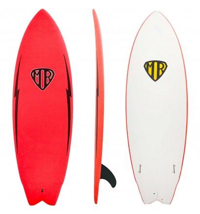 Surfbrett softboard Ocean & Earth MR Twin Fin Epoxy-Soft