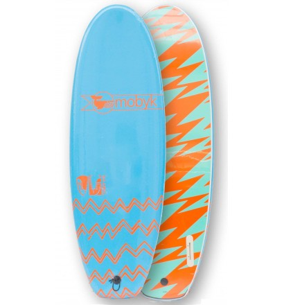 Tabla de surf softboard Mobyk twin fin 4'10''