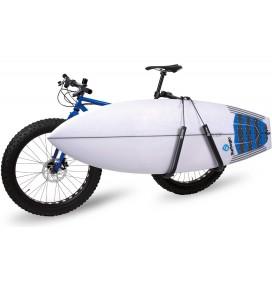 Suporte de prancha de surf para bicicleta Surf Logic