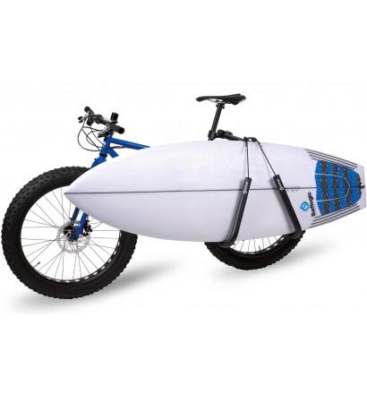 Porte planche de surf pour vélo Surf Logic