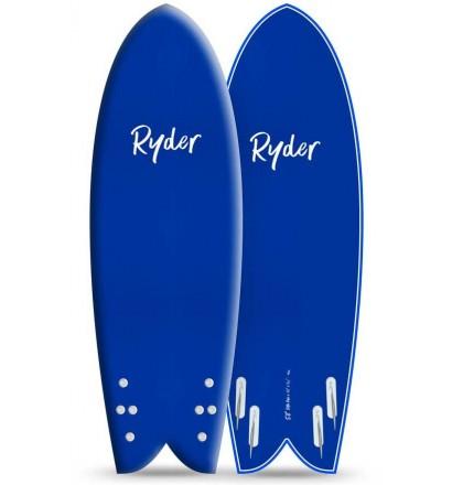 Prancha de surf softboard Ryder Retro Fish (EM ESTOQUE)