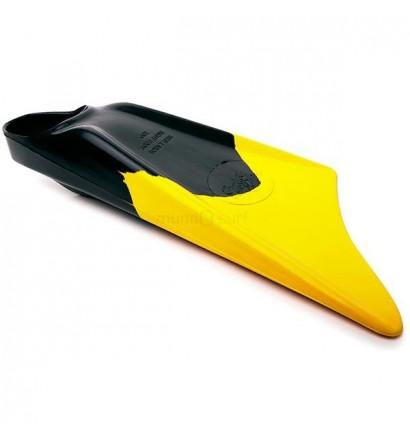 Pé de pato bodyboard Limited Edition Preto/Amarelo