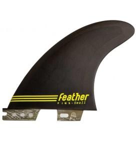 Pinne surf Feather Fin Ultralight Epoxy Click Tab