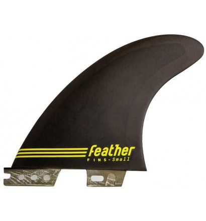Quillas de surf Feather Ultralight Epoxy Click Tab