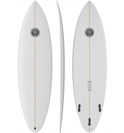 Tavola da surf fish SOUL Wasabi