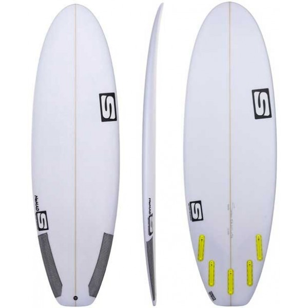 Imagén: Surfboard Simon Anderson Nomad