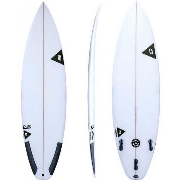 Imagén: Prancha de surf Simon Anderson XFC