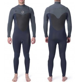 Wetsuit Rip Curl Flash-Bom 3/2mm Borst-Zip