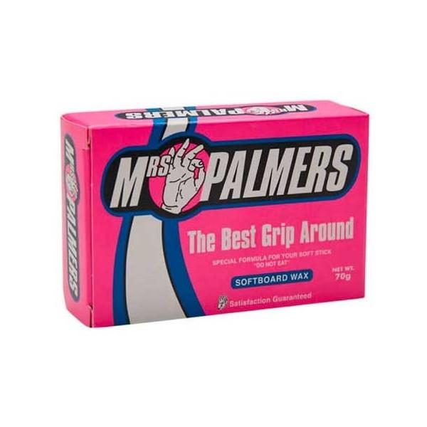 Imagén: Parafina Mrs Palmers Softboard Wax