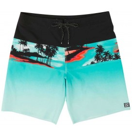 Badehose Billabong All Day Stripe Boy