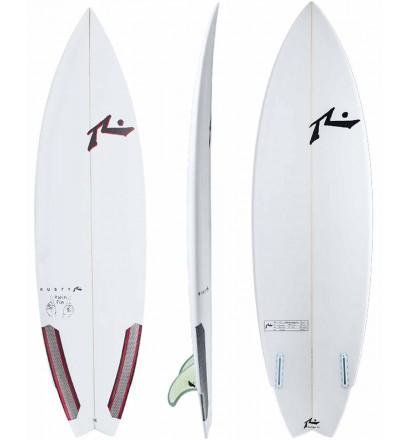 Surfboard Rusty Twin Fin