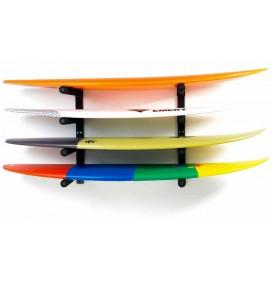 Soporte de pared para 4 tablas de surf Surf System