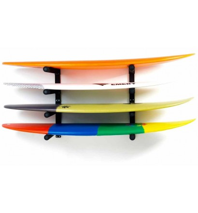 Wandhalter für 4 surfboards Surf System