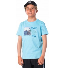 T-Shirt Rip Curl Good Day Blue River