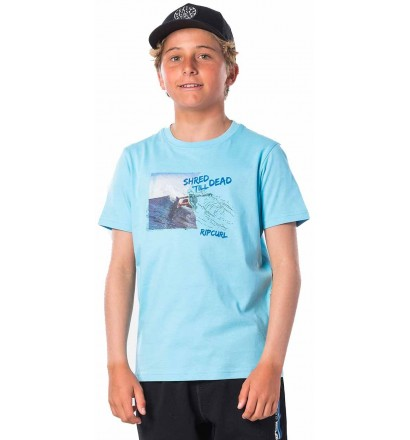 T-Shirt Rip Curl Good Day Blue River