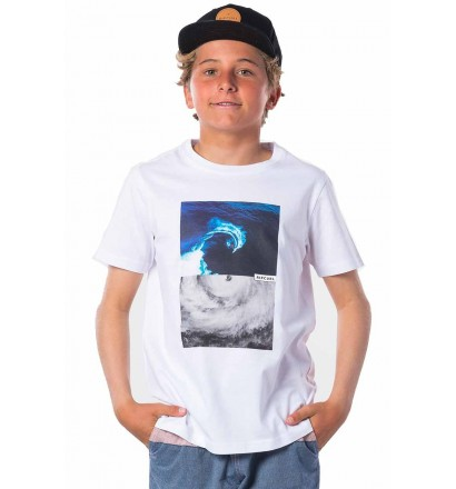 T-Shirt Rip Curl Good Day Optical White