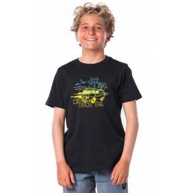 Camiseta Rip Curl Coche Black