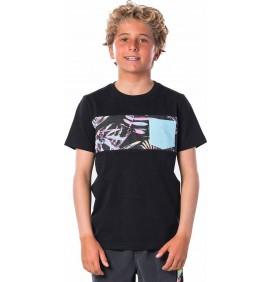 T-Shirt Rip Curl Block Pocket