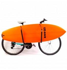 Rek fiets Surf System voor surfboard