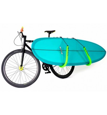 Rek fiets Pat Racks voor longboard