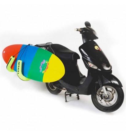 Rek motorfiets Pat Racks voor surfboard